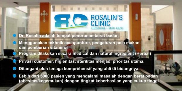 Mengapa Harus Rosalin's Clinic?